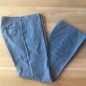 Grey Flare Dress Pants 32L